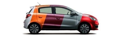 Chọn màu ô tô