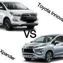 Đánh giá,so sánh Mitsubishi Xpander 1.5 AT và Toyota Innova 2.0G qua thông số kỹ thuật.